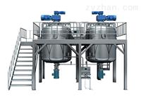 GDZRJ-500L系列全自动真空乳化成套设备