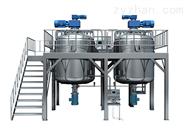 GDZRJ-500L型底部全自动均质真空乳化成套设备