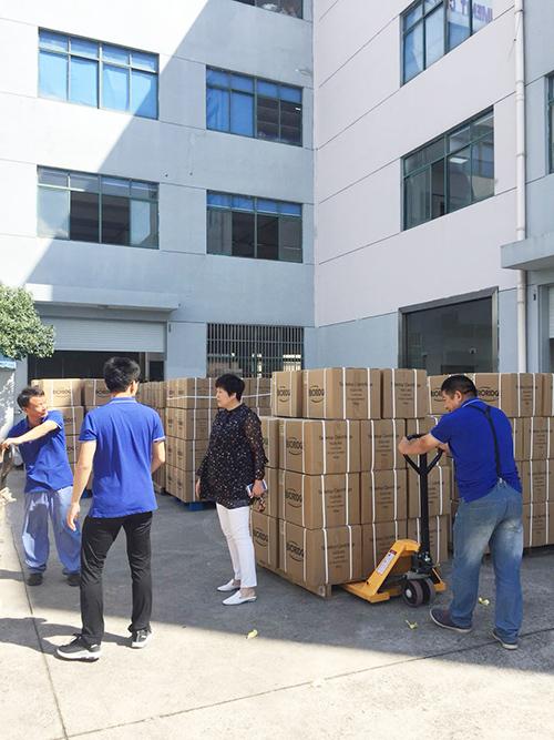 上海卢湘仪国外市场如鱼得水!又完成一笔出口订单!